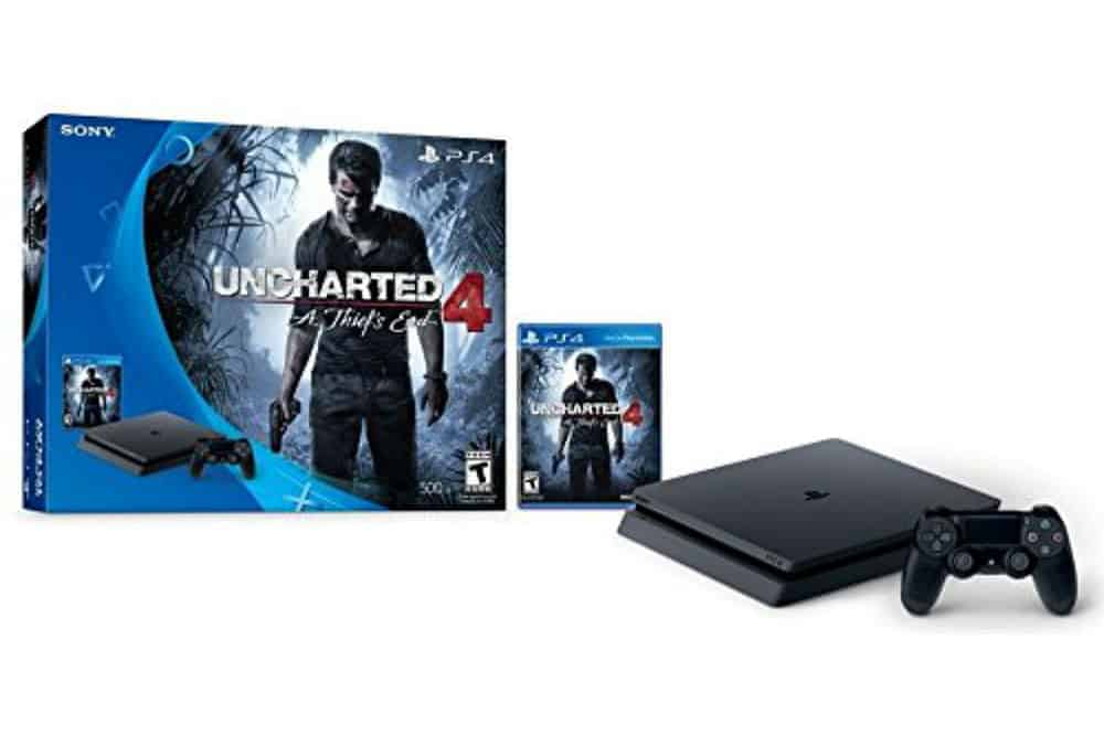 PlayStation 4 Slim 500GB Console - Uncharted 4 Bundle Review